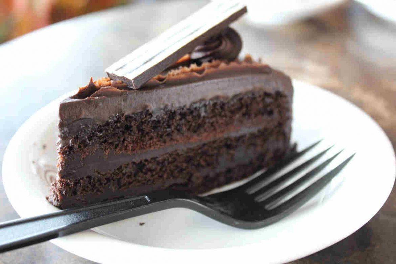 Tarta de chocolate fitness