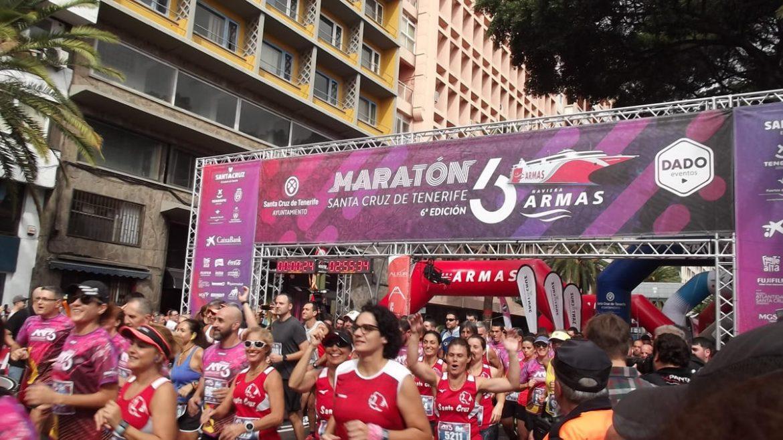 resumen maratón de Tenerife 2019